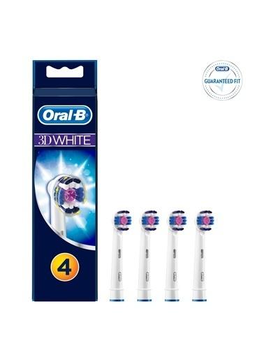 Oral-B Oral B 3d Whıte Yedek Başlık 4 Lü Renkli